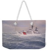 U. S. Coast Guard Cutter Gallitin Weekender Tote Bag by William H RaVell III