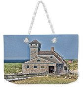 U S Lifesaving Station Weekender Tote Bag