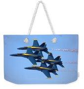 U S Navy Blue Angeles, Formation Flying Weekender Tote Bag