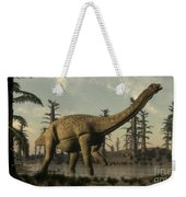 Uberabatitan Dinosaur Walking Weekender Tote Bag