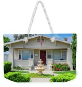 Suburban Arts And Crafts Hayward California 18 Weekender Tote Bag