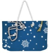 Ucla Bruins Christmas Card Weekender Tote Bag