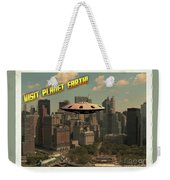 Ufo Postcards Home By Raphael Terra Weekender Tote Bag