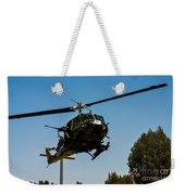 Uh-1 Huey Arrival Weekender Tote Bag