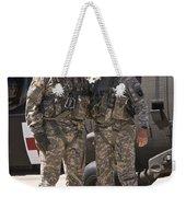 Uh-60 Black Hawk Crew Chiefs Weekender Tote Bag