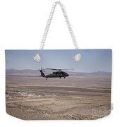 Uh-60 Black Hawk En Route To New Mexico Weekender Tote Bag