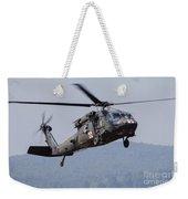 Uh-60a Black Hawk Medevac Helicopter Weekender Tote Bag