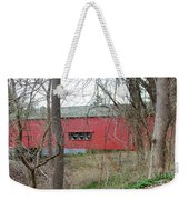Uhlerstown Covered Bridge Weekender Tote Bag