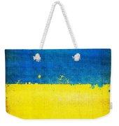 Ukraine Flag Weekender Tote Bag by Setsiri Silapasuwanchai