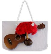 Ukulele And Uliuli Weekender Tote Bag
