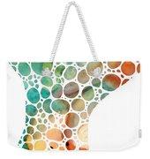 Ultra Modern Art - Colorforms 2 - Sharon Cummings Weekender Tote Bag