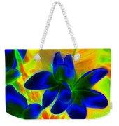 Ultraviolet Weekender Tote Bag