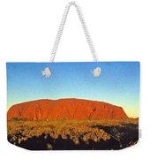 Uluru Weekender Tote Bag