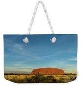 Uluru Sunset 01 Weekender Tote Bag