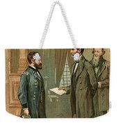 Ulysses S. Grant With Abraham Lincoln Weekender Tote Bag