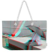 Umbrella Man - Use Red-cyan 3d Glasses Weekender Tote Bag