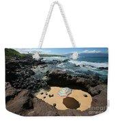 Umbrella On Beach Weekender Tote Bag