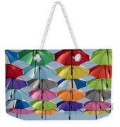 Umbrella Rainbow Weekender Tote Bag