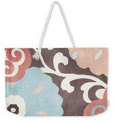 Umbrella Skies II Suzani Pattern Weekender Tote Bag