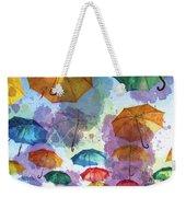 Umbrella Sky Weekender Tote Bag