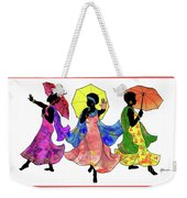 Umbrella Strut Weekender Tote Bag