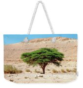 Umbrella Thorn Acacia, Negev Israel Weekender Tote Bag