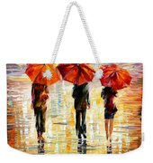Umbrellas Weekender Tote Bag