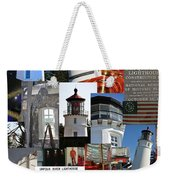 Umpqua River Lighthouse Collection Weekender Tote Bag