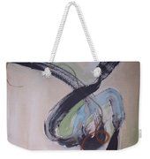 Unaccustomed Thought-abstract Art Weekender Tote Bag