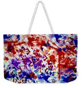 Uncertainty Weekender Tote Bag by Raul Diaz