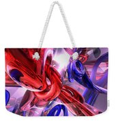 Unchained Abstract Weekender Tote Bag