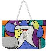Uncle Sam Tooth Weekender Tote Bag