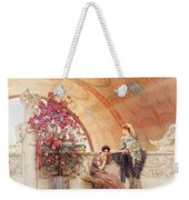 Unconscious Rivals Weekender Tote Bag by Sir Lawrence Alma Tadema