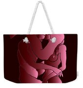 Uncovered Faces - Heartbeat Version Weekender Tote Bag