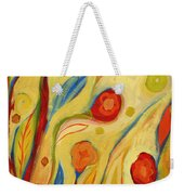 Under A Sky Of Peaches And Cream Weekender Tote Bag