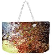 Under An Autumn Sky - No.2 Weekender Tote Bag