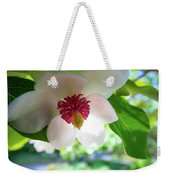 Under Flower Weekender Tote Bag
