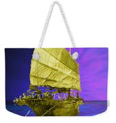 Under Golden Sails Weekender Tote Bag