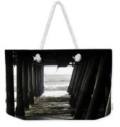 Under Santa Monica Pier Weekender Tote Bag