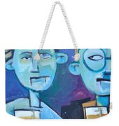 Under Scrutiny Weekender Tote Bag