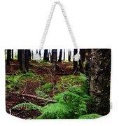 Under The Alaskan Trees Weekender Tote Bag