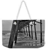 Under The Boardwalk Alantic Beaches Nc Weekender Tote Bag