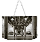 Under The Boardwalk Weekender Tote Bag by Dave Bowman