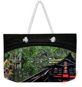 Under The Bridge Painted Weekender Tote Bag