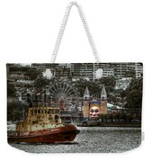 Under The Bridge Weekender Tote Bag by Wayne Sherriff