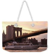 Under The Brooklyn Bridge  Weekender Tote Bag