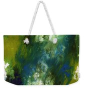 Under The Canopy- Abstract Art By Linda Woods Weekender Tote Bag