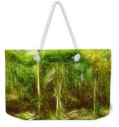 Under The Canopy Of The Antediluvian Forest Weekender Tote Bag