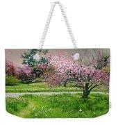 Under The Cherry Tree Weekender Tote Bag