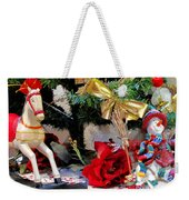 Under The Christmas Tree Weekender Tote Bag